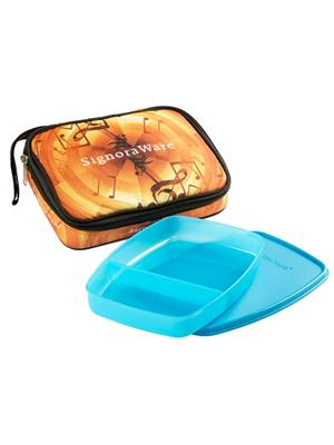Signoraware P14507 Blue Lunch Box With Bag