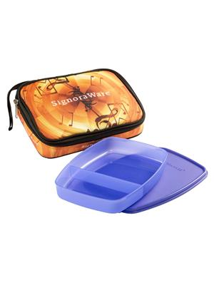 Signoraware P14507 Violet Lunch Box With Bag