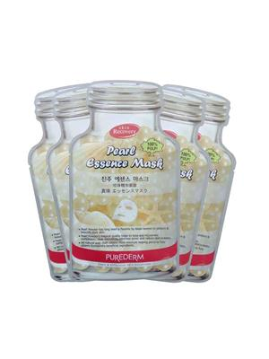Purederm Pd Pearl Essence 05 Face Mask Pack Of 5