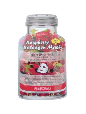 Purederm Pd Raspberry Collagen 01 Face Mask Pack Of 1