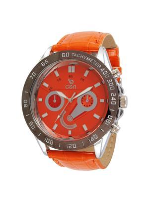 Chappin & Nellson PEL-CN-07-G-Orange Women Wrist Watch