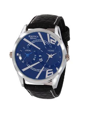 Exotica Fashions  PEL-EF-80-Dual Black Men Wrist Watch