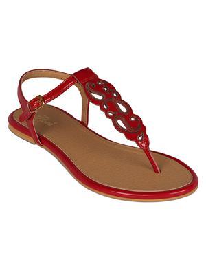 Flora PF-0111-05 Red Women Sandal