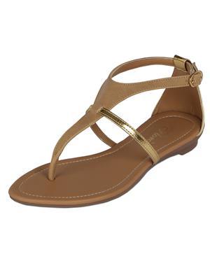 Flora PF-0114-03 Cream Women Sandal