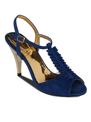 Flora PF -2001-18 Blue Women Heels