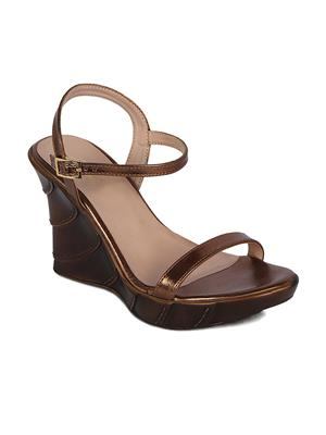 Flora PF-2002-23 Copper Women Sandal