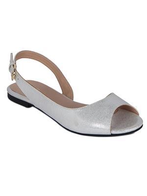 Flora PF-3004-21 Silver Women Sandal