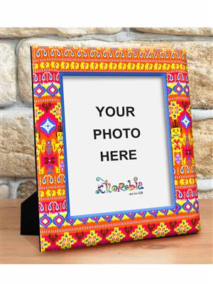 Kolorobia PFLIKT07  Ikat Photo Frame