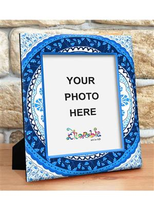 Kolorobia PFSTU05  Turkish Blue Photo Frame