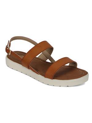 Flora PF-0140-07 Tan Women Sandal