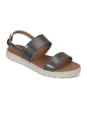Flora PF-0141-43 Grey Women Sandal