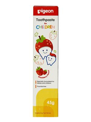 Pigeon PGP45G Baby Toothpaste- 45G(Strawberry Flavour)
