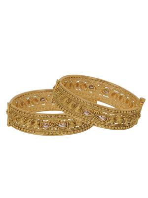 Penny Jewels PJ-GD-301 Golden Women Bangles