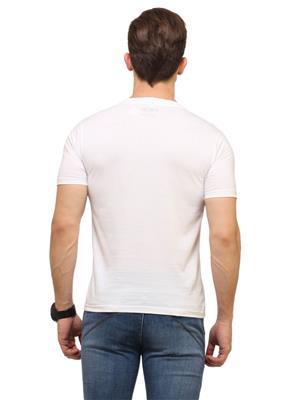 Polos P1 White Men T-Shirt