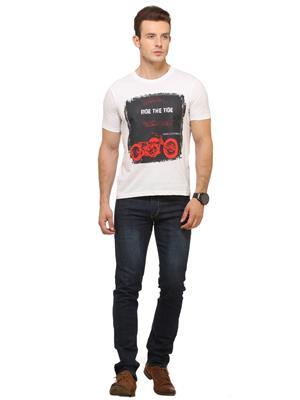 Polos P5 White Men T-Shirt