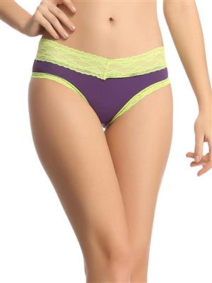 Clovia PN0528P15 Purple Women Panty