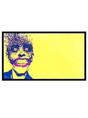 Shoping Inc POS1274 Batman: Arkham Joker Smiling Video Game Laminated Framed Art