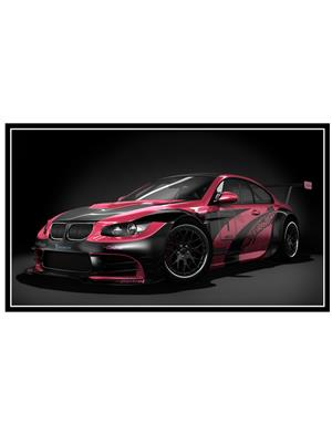 Shoping Inc POS1325 BMW Sports Car Laminated Framed Art Poster