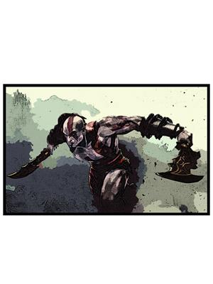 Shoping Inc POS1429 Video Game God Of War Laminated Framed Art