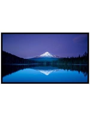 Shoping Inc POS1536 Peaceful Blue Sunset Nature Laminated Framed Art