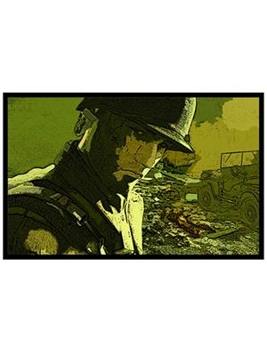 Shoping Inc POS1553 Awesome Video Game Call Of Duty Soldier Laminated Framed Art