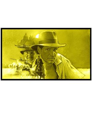 Shoping Inc POS30027 Harrison Ford Indiana Jones and the Last Crusade Laminated Framed Poster