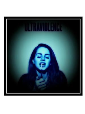 Shoping Inc POS30195 Lana Del Rey Ultravoilence Music Artist Shades of Cool Laminated Framed Poster
