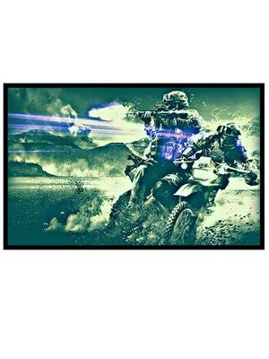 Shoping Inc POS30282 Soldiers Battlefield 4 Video Game Laminated Framed Poster