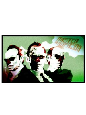 Shoping Inc POS30324 Agent Smith Matrix Hollywood Movie Laminated Framed Poster