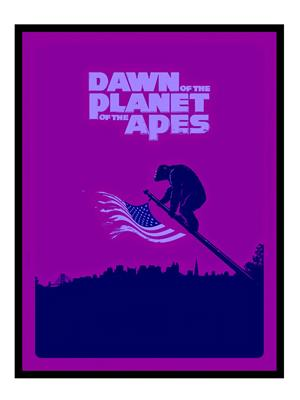 Shoping Inc POS30568 Dawn of the Planet of the Apes Thriller film Laminated Framed Poster