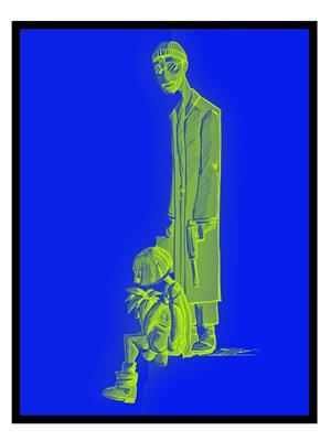 Shoping Inc POS30631 Leon The Professional Promotional Poster Laminated Framed Poster
