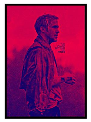 Shoping Inc POS30639 The Place Beyond The Pines Ryan Gosling Promotional Poster Framed Poster
