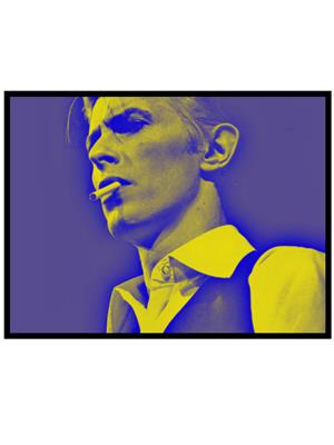 Shoping Inc POS30696 David Bowie Moon Voyage Daydream Promotional Poster Laminated Framed Poster