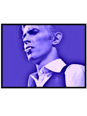 Shoping Inc POS30698 Cover Art David Bowie Poster Laminated Framed Poster