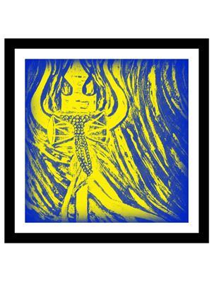 Shoping Inc POS30766 Psychedelic God Shiva Decorative Laminated Framed Poster