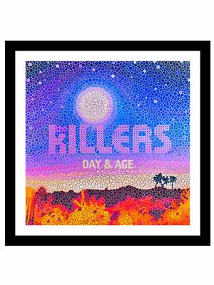 Shoping Inc POS30825 rock band The Killers Day & Age Laminated Framed Poster