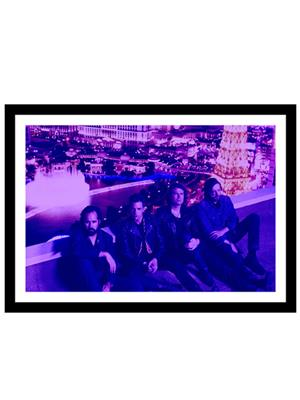 Shoping Inc POS30874 Glamorous Indie Rock & Roll Rock band The Killers Laminated Framed Poster