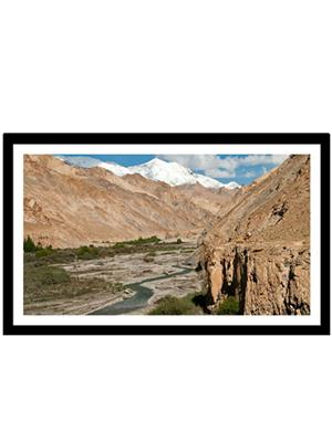 Shoping Inc POS30913 Markha Valley Trek Ladakh Decorative Laminated Framed Poster