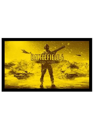 Shoping Inc POS30932 Battlefield 4 final stand Video Game Laminated Framed Poster