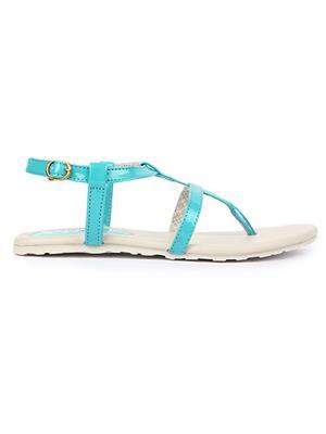 Jove PSJ1410 Green Women Sandal