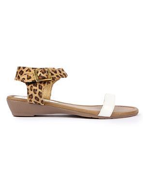 Jove PSJ1484 White Women Sandal
