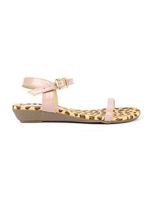 Jove PSJ1510 Cream Women Sandal