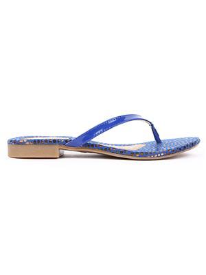 Jove PSJ500 Blue Women Slipper