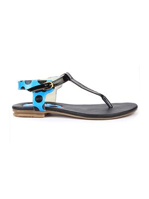 Jove PSJ521 Blue Women Sandal