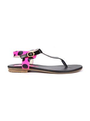 Jove PSJ521 Pink Women Sandal