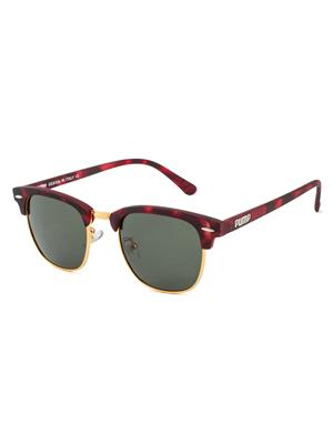 Rafa PUMPCLUB-DEMIG15 Brown Unisex Wayfarer Sunglasses