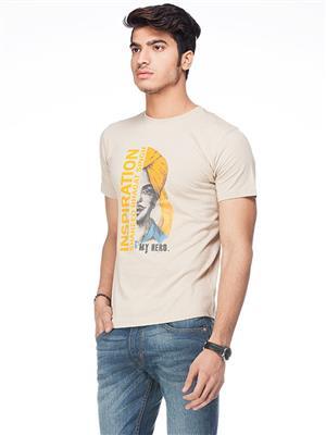 Punjabi Heritage PBH-121 Brown Men T-Shirt
