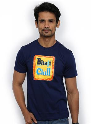 Punjabi Heritage PBH-128 Blue  Men T-Shirt
