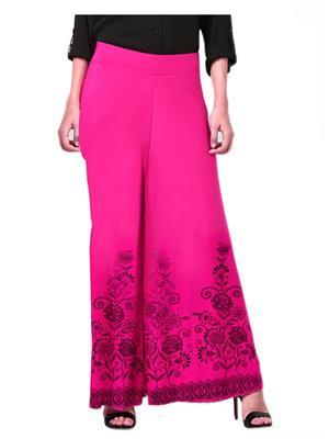 Lauriel Plz7008Pnk Pink Women Palazzo