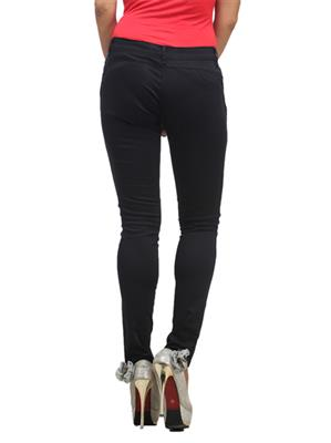 Hash 69 H 706 Black Womens Trousers